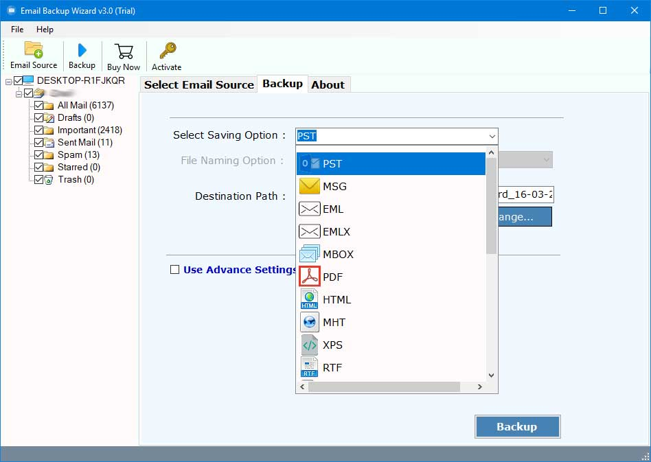 export-yandex-mail-to-outlook-2019