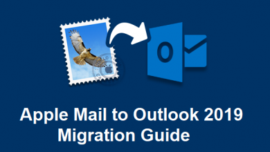 Apple Mail to Outlook 2019 Migration