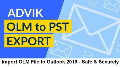 Import OLM to Outlook 2019