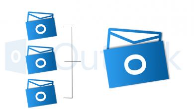 Merge PST Files Outlook 2016
