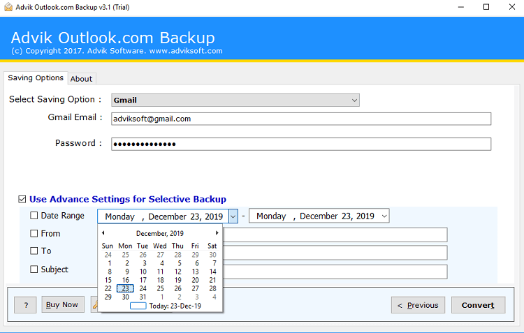 outlook.om to gmail migration tool
