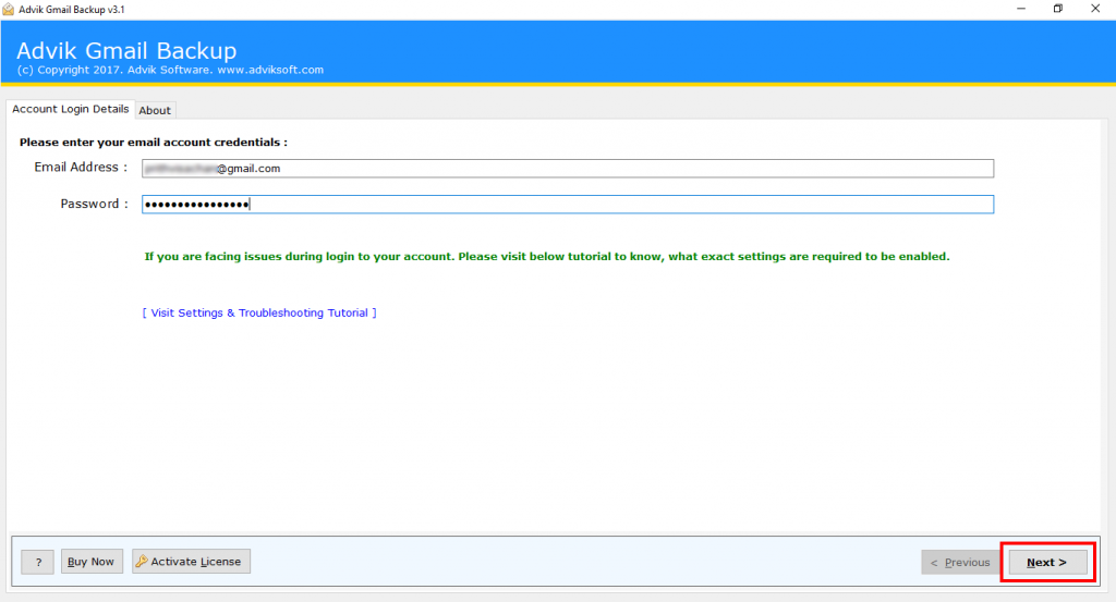 batch convert Gmail to PDF
