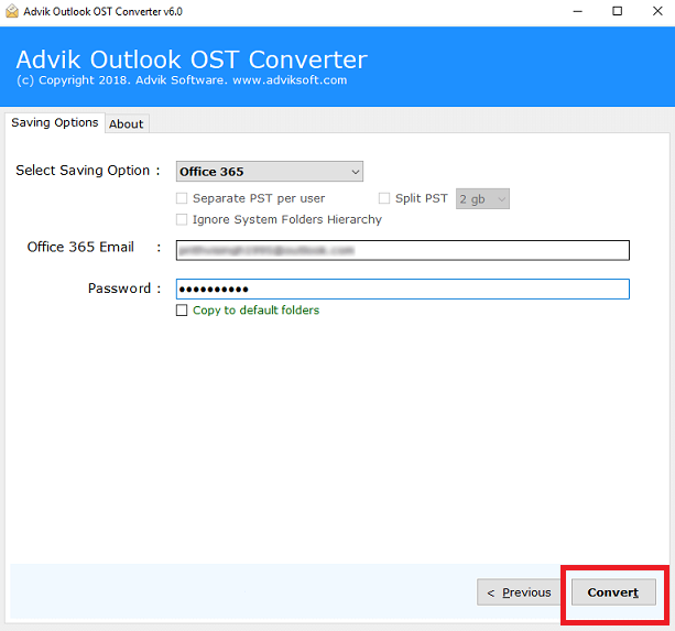 ost to office 365 import
