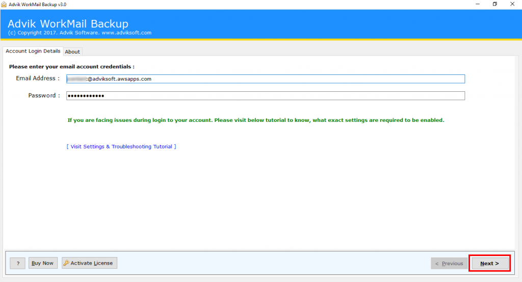 Amazon WorkMail to PST