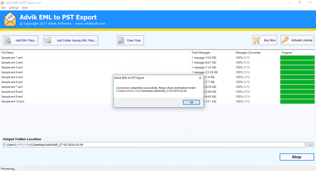 windows live mail to pst export