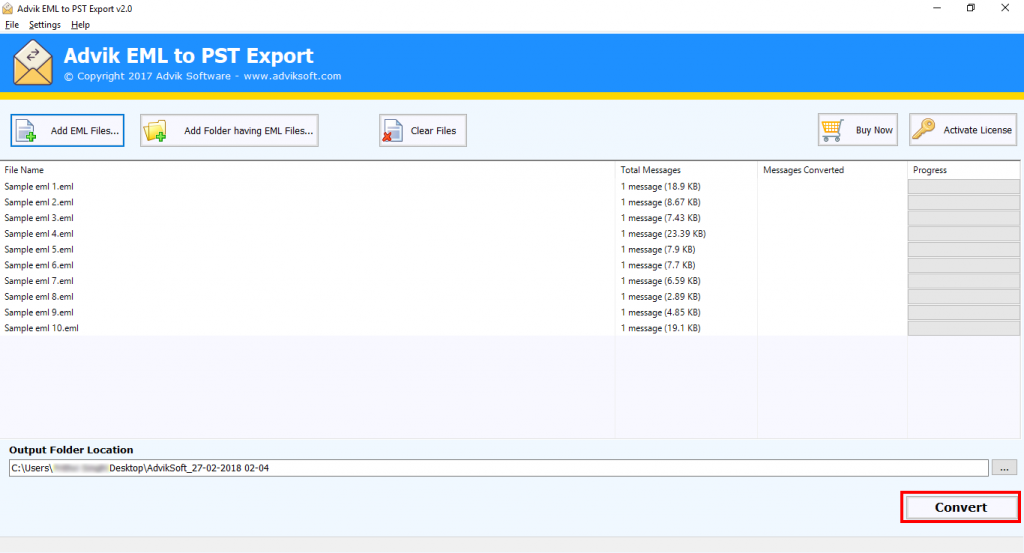 export emails from windows live mail to pst file