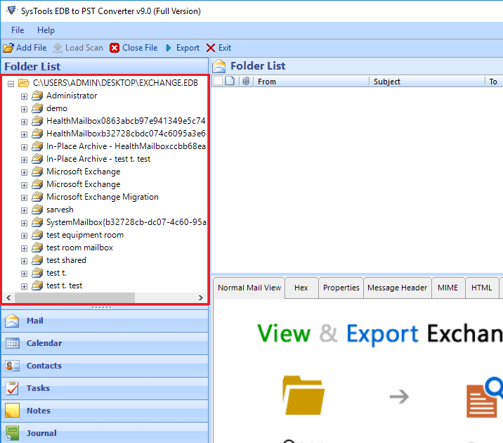 import edb to outlook 2019